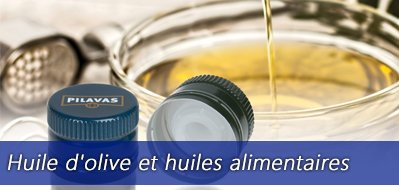 Huile d'olive et huiles alimentaires